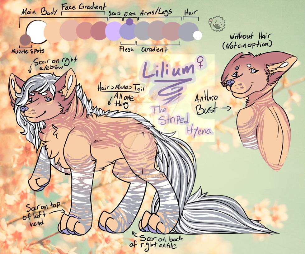 Lilium, the Hyena Sona by MonsterMeds