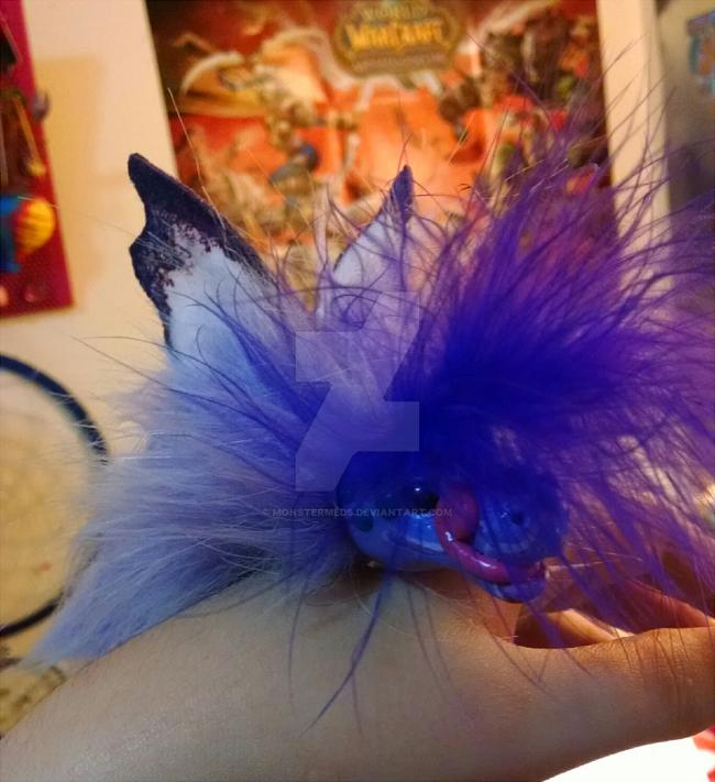Oberon the Tea-cup Fairy Wyrm by MonsterMeds