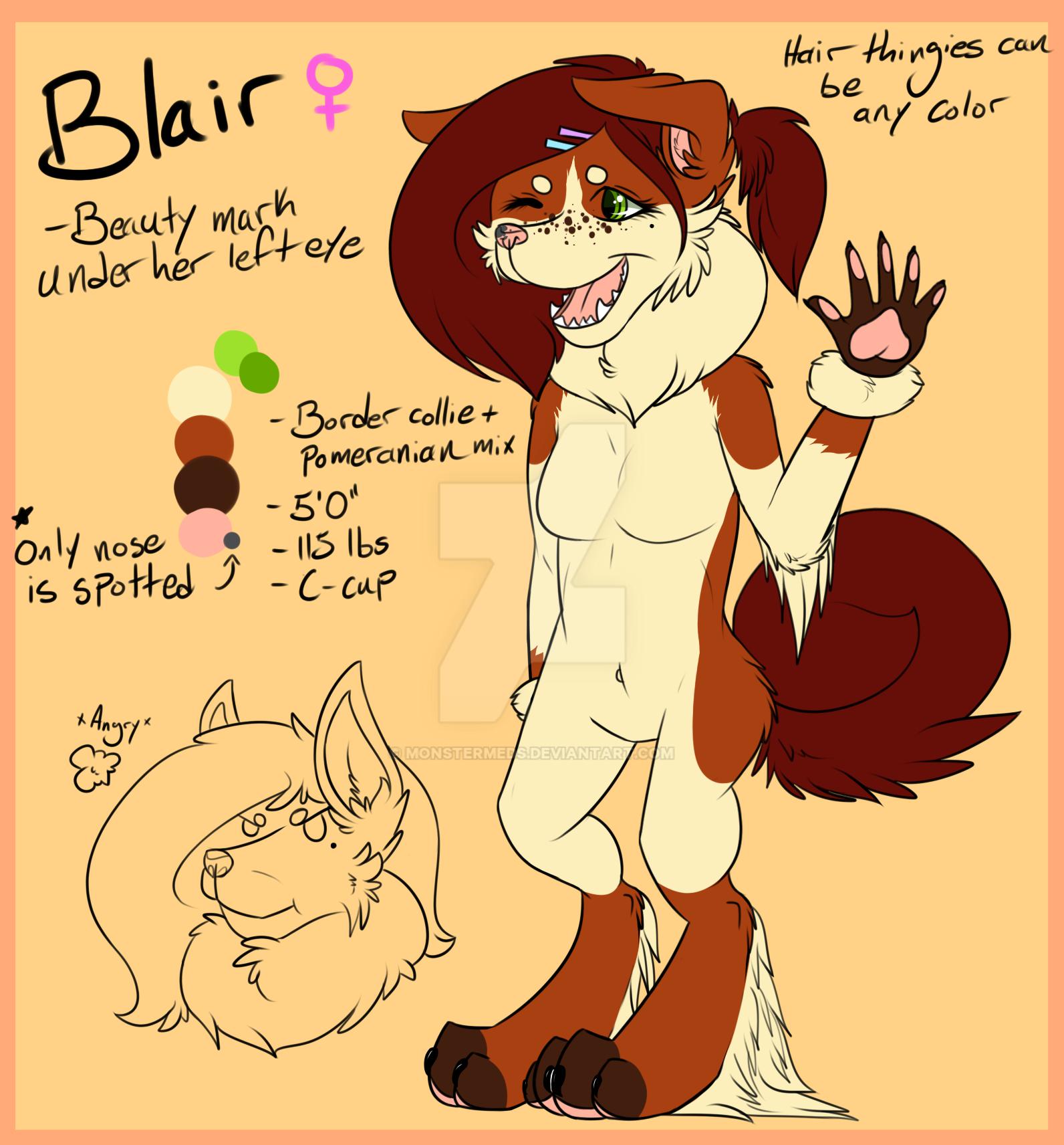 Blair Ref by MonsterMeds