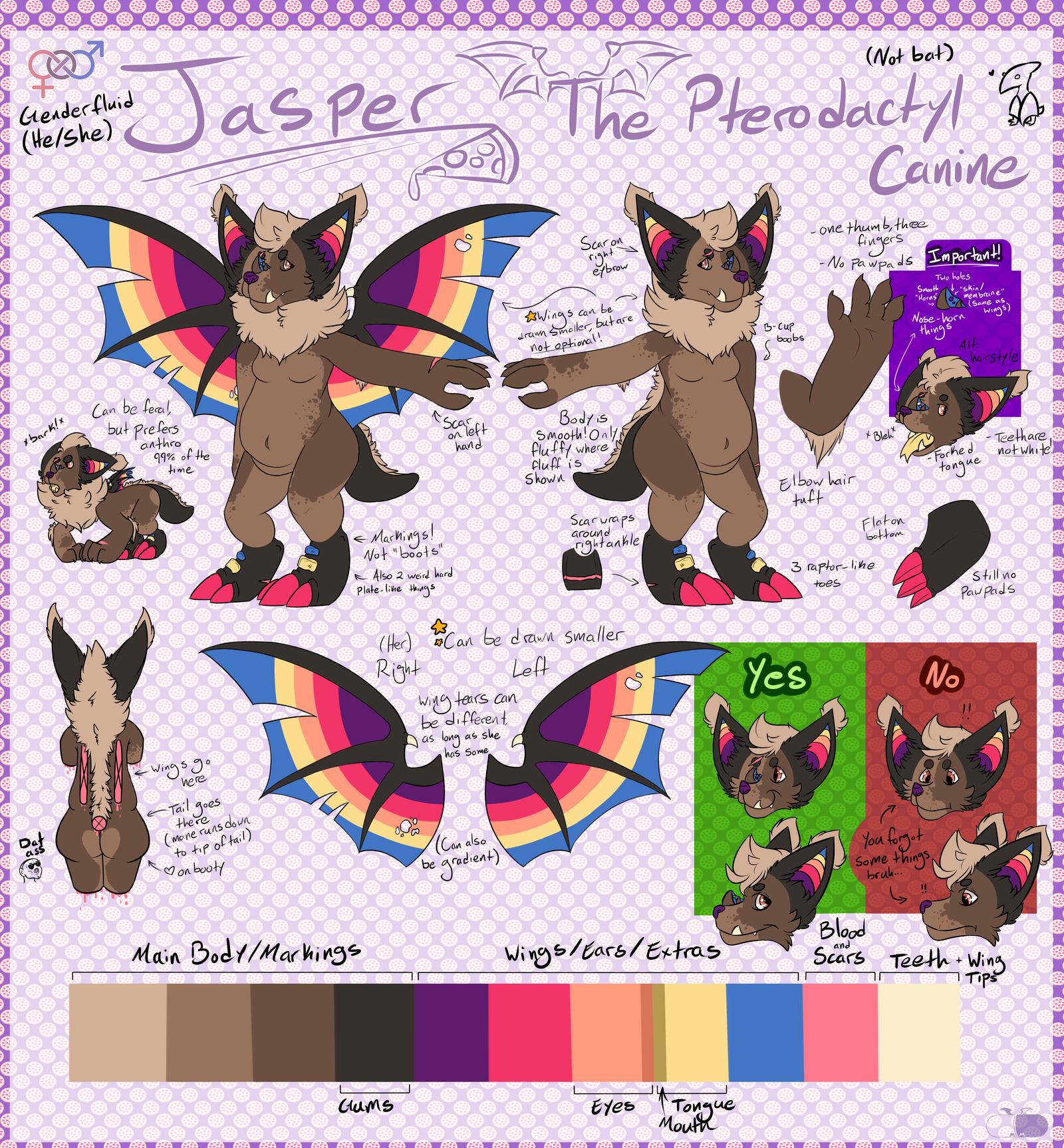 NEW Jasper Ref by MonsterMeds