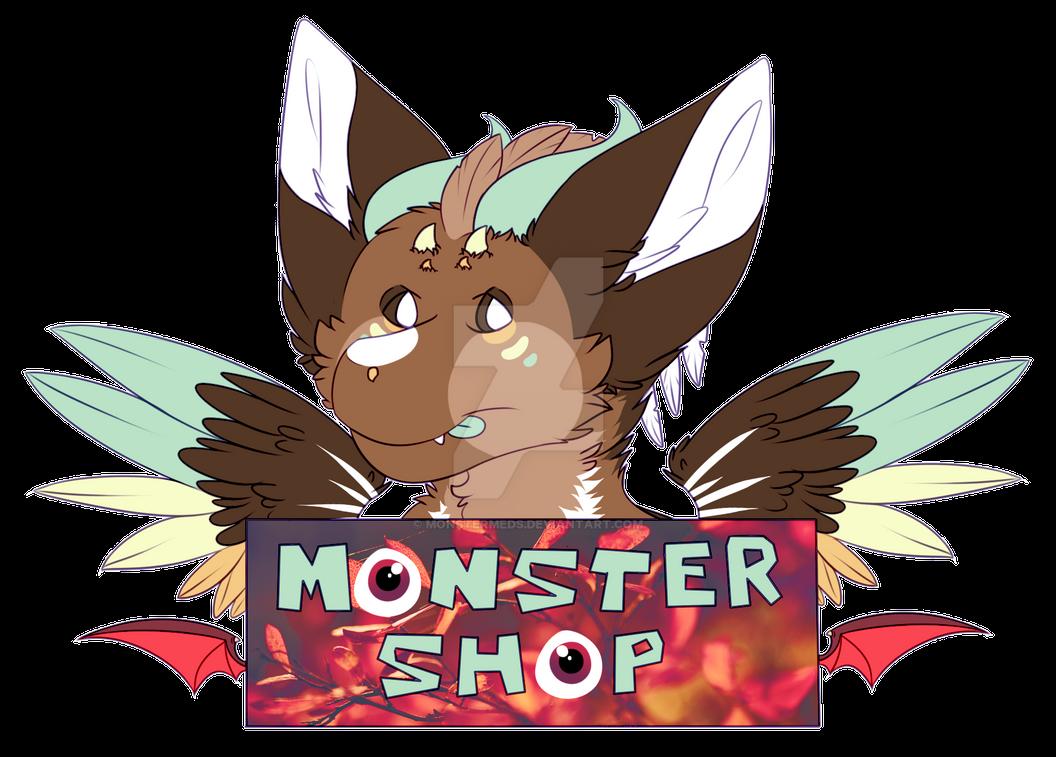 Monster Shop Logo by MonsterMeds