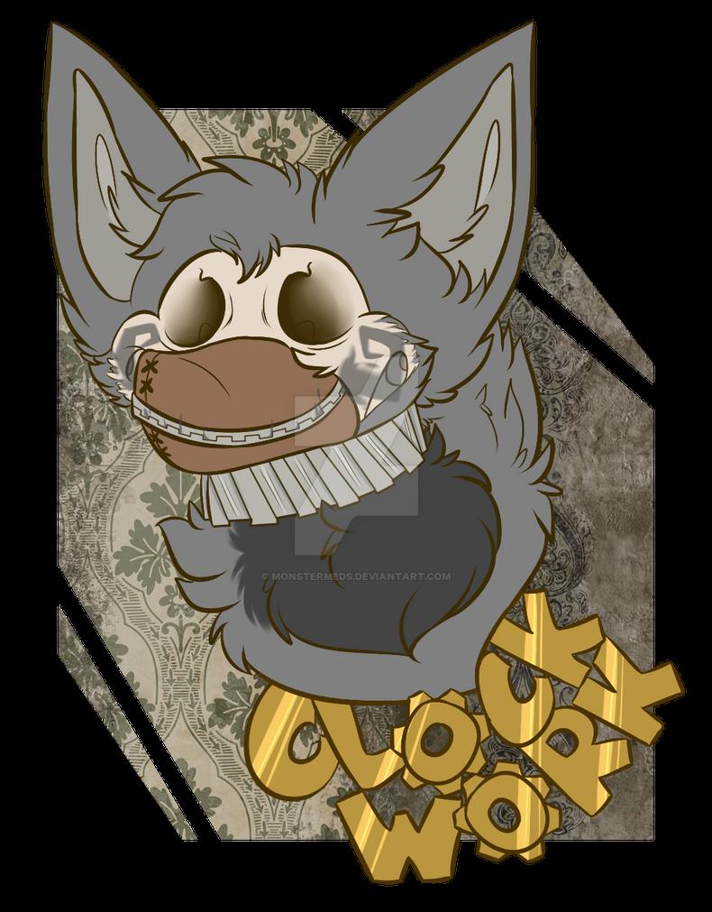 Clockwork Badge by MonsterMeds
