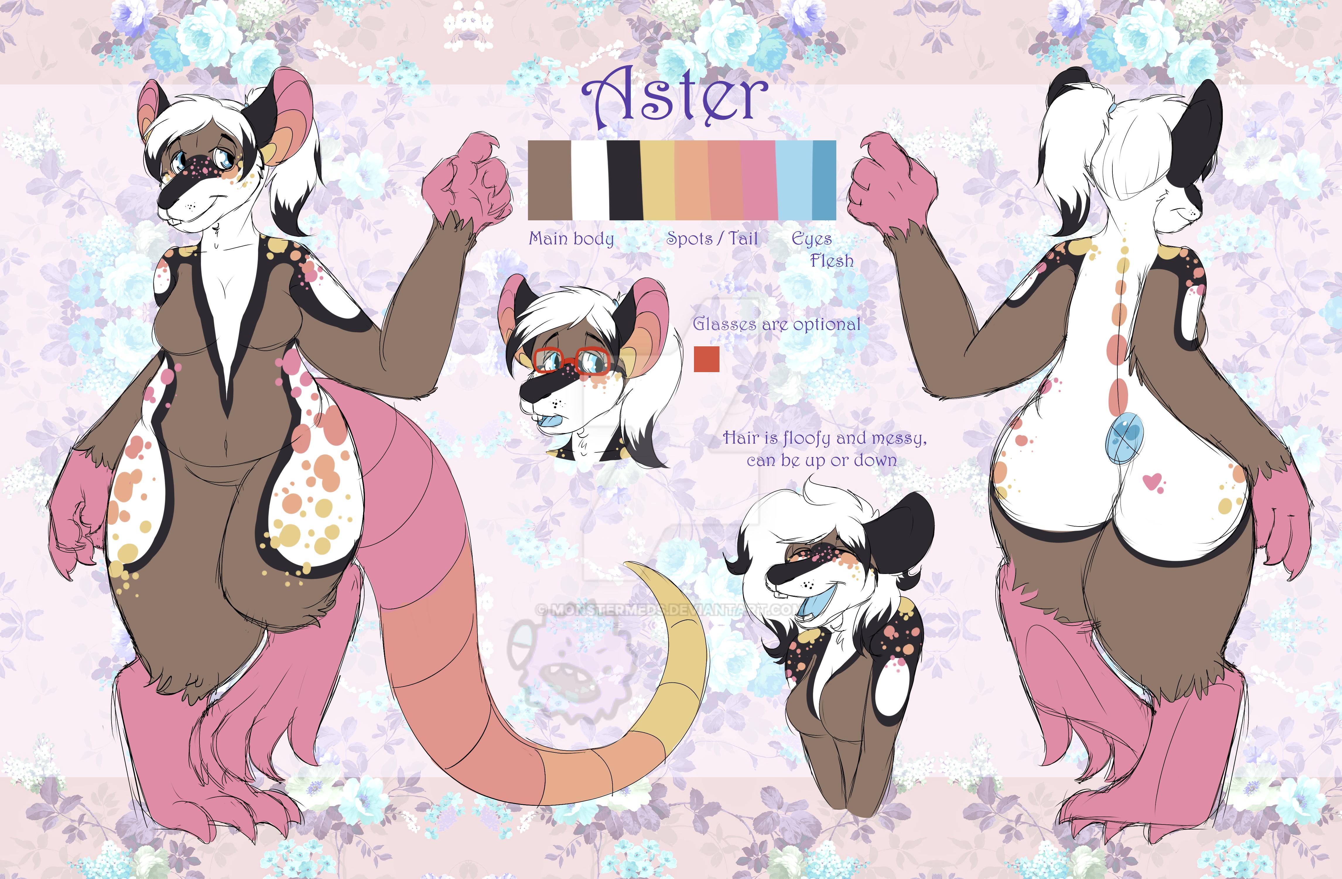Aster Ref (Huge File) by MonsterMeds