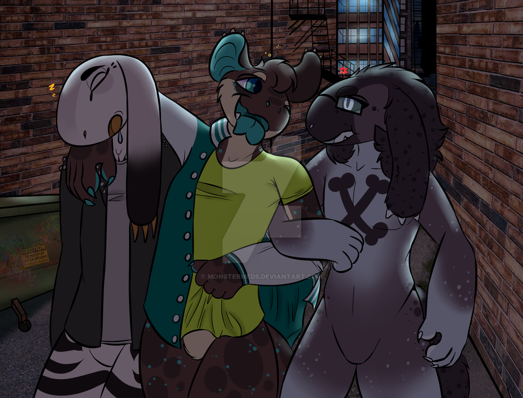 May Prompt: The after party by MonsterMeds
