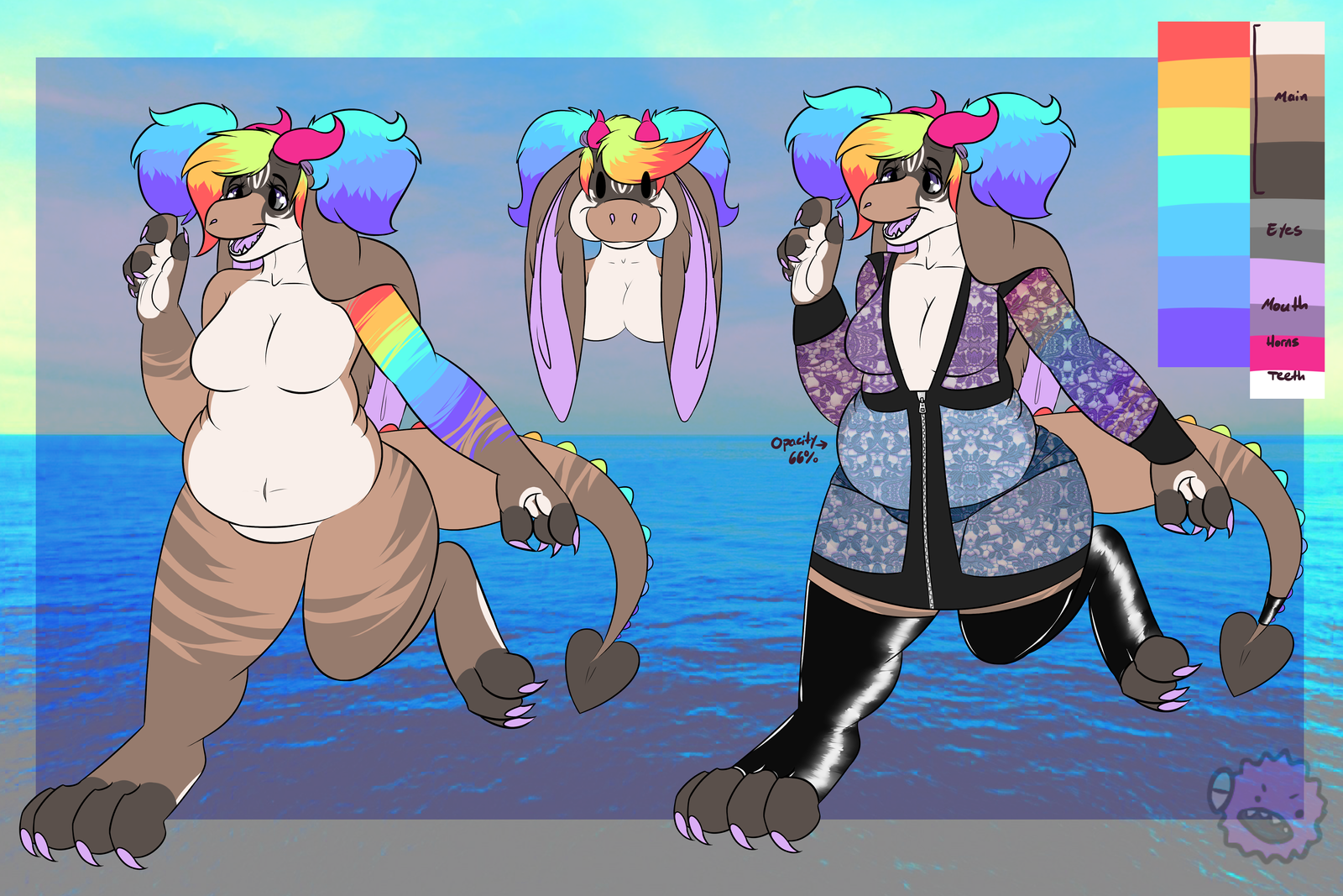 May Creature Exchange for Rainbow-Moose by MonsterMeds