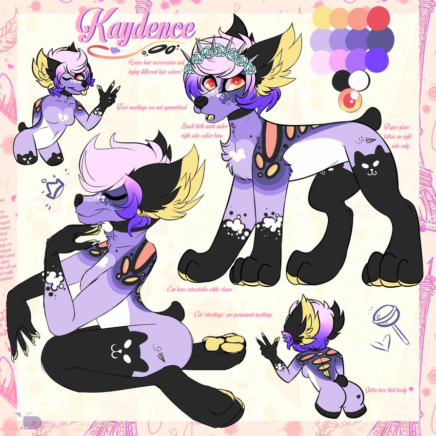 Kaydence Ref by MonsterMeds
