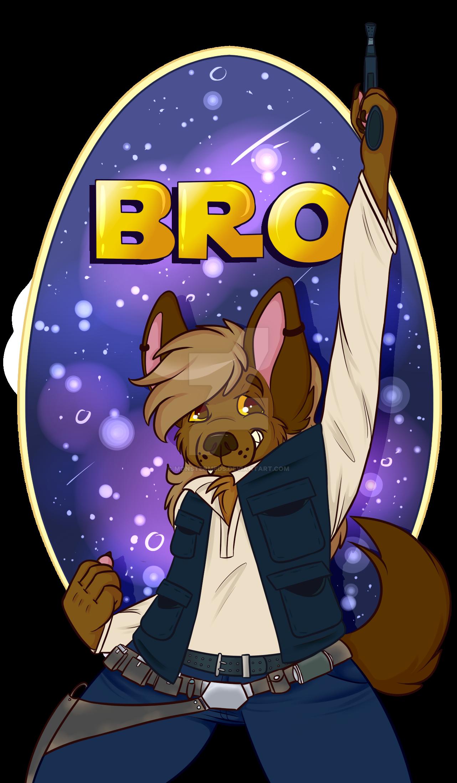 Bro(n) Solo Badge by MonsterMeds