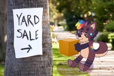 Online Yard Sale!! by MonsterMeds