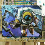 AstroNautilus Painting