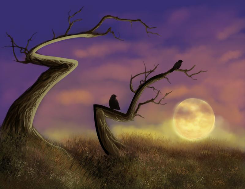 Creepy Sunset by Stellrayn