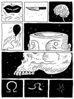 omega, worm, sphincter (The Not Comix 4.07) by erspears