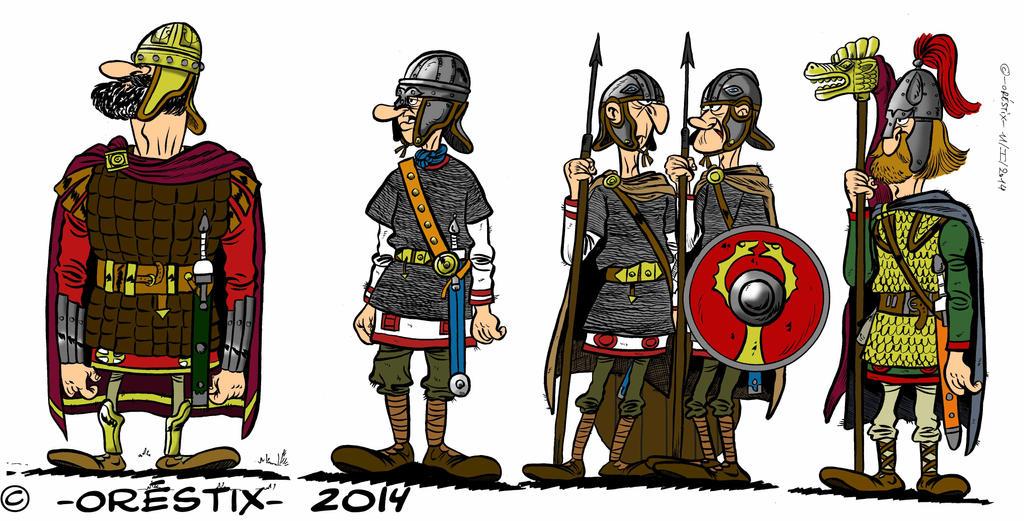 Late Roman Army by Orestix