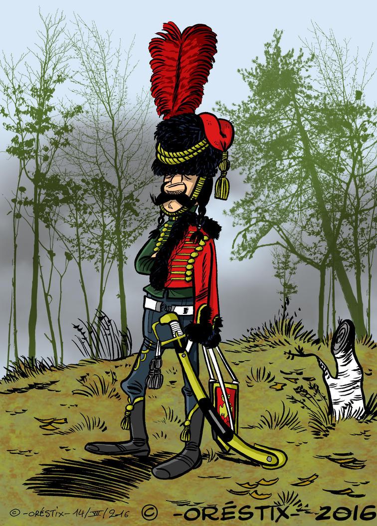 Hussard napoleonien by Orestix