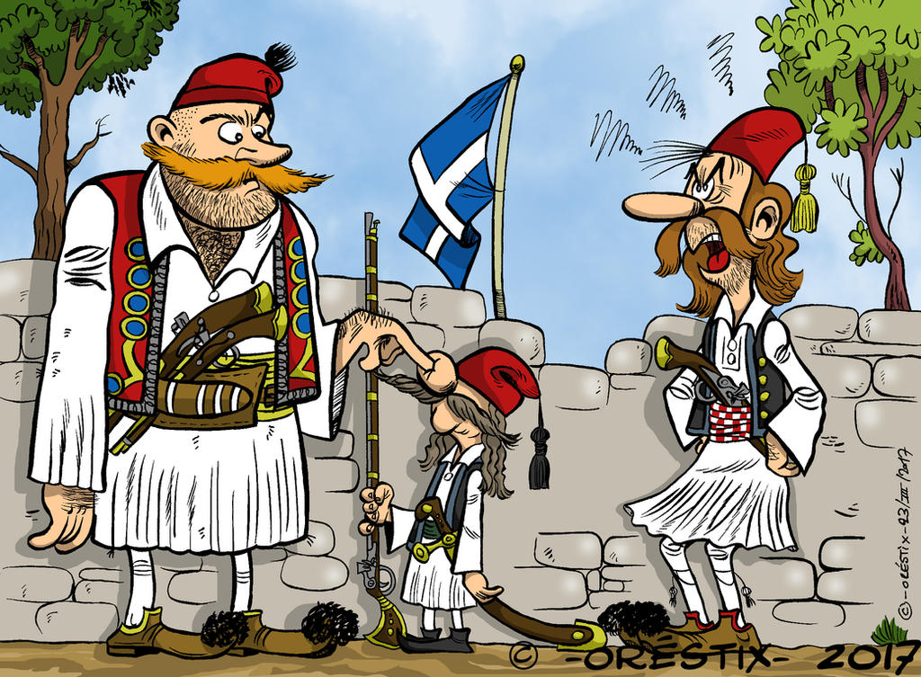 1821 Greek civil war! by Orestix