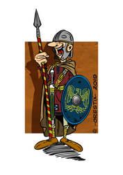 Late Roman infantryman by Orestix