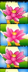 Flower Test 2 by Peachakean