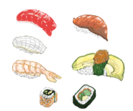 Pixelsushi by Peachakean