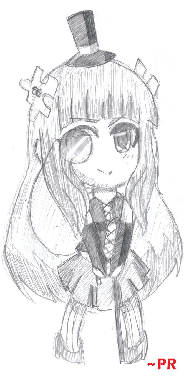 Elegant Gothic Lolita by ProjectRamirez