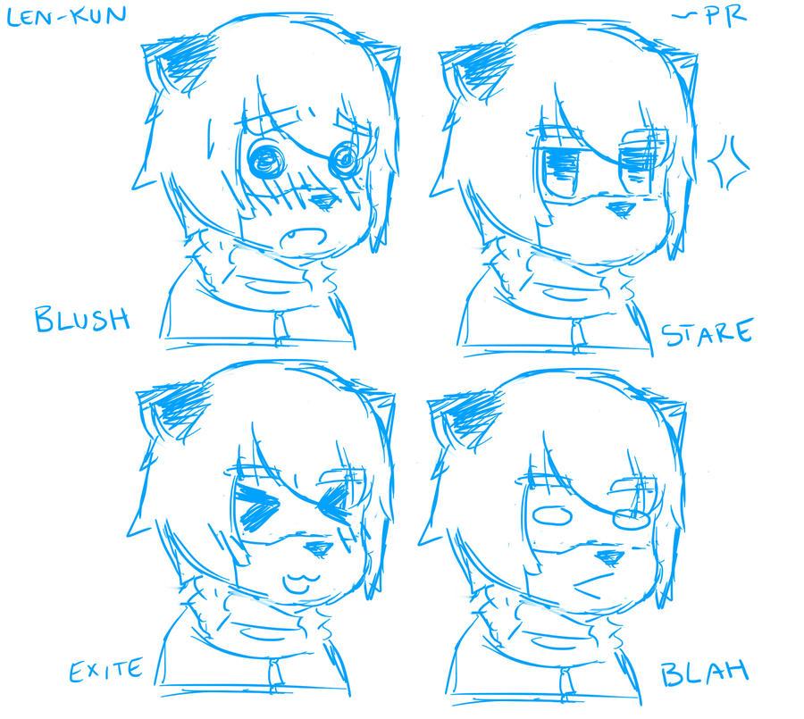 emotions by ProjectRamirez