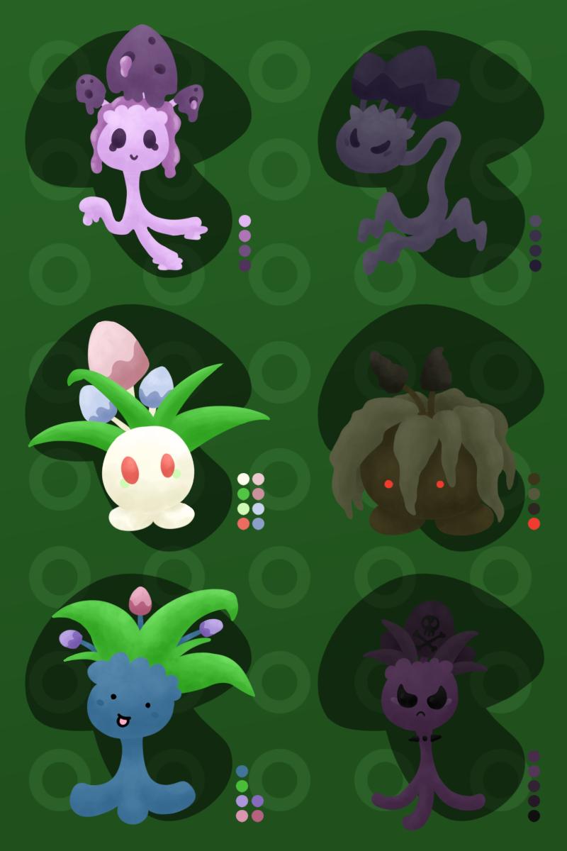 [PKMNation] [CLUTCH] The Mushroom Garden Grows... by tarje