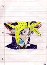 Sad Yami drawing by SpiritPuzzleshipper
