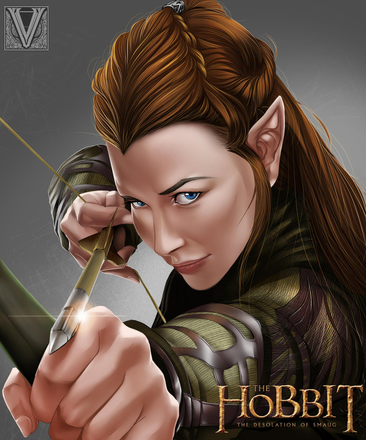 Tauriel - Fanart [ finish ] by mr-Vy