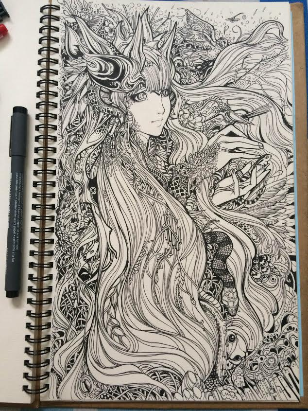 Line Design Art With Mr E : Line artwork pen by mr vy on deviantart