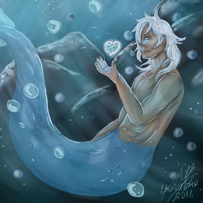 Alone fish by YukariIsai