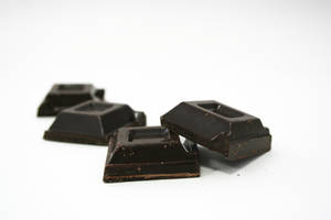 Chocolate chunks isolated 01 by rioalba