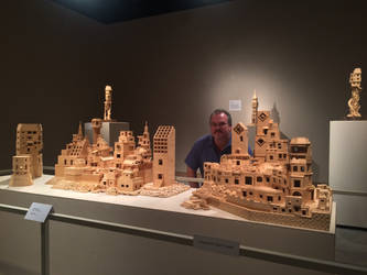 Bob's Toothpick City Art Solo Exhibition by BobsToothpickCityArt
