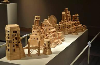 Bob's Toothpick City - by Bob Morehead by BobsToothpickCityArt