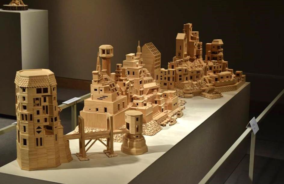 Bob's Toothpick City - by Bob Morehead