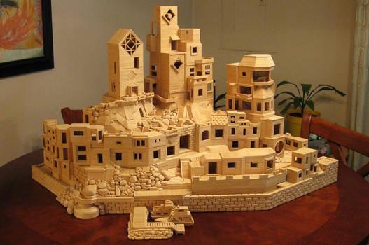 Bob's Toothpick City by Bob Morehead