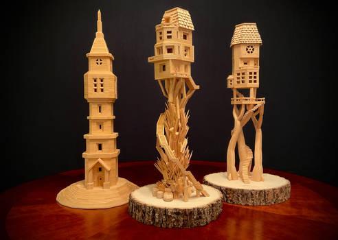 Bob Morehead Bobs Toothpick City Art