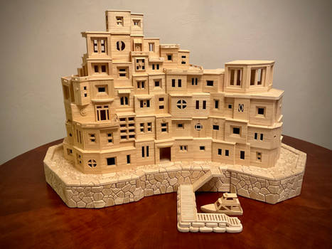 150,000 toothpicks - Bob Morehead