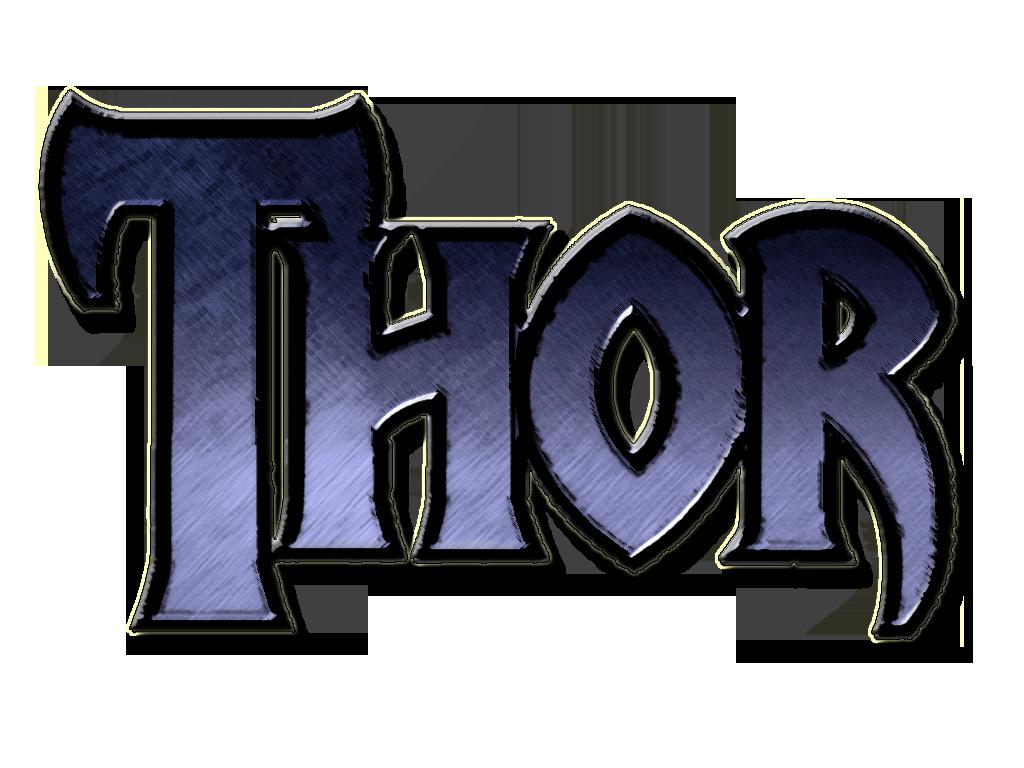 Fan Thor 2011 Movie Logos Blue