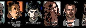 Avengers Movie Cast Manip