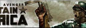 Captain America Movie Banner