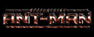 Astonishing Ant-Man Movie Logo