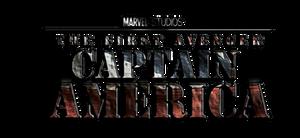 Capt America Film Logo Stacked