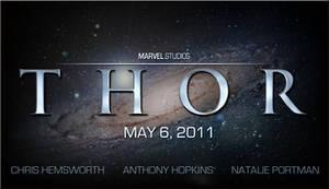New Final Thor Movie Logo