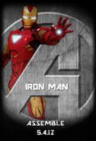 Avengers Standee: Iron Man by Marvel-Freshman