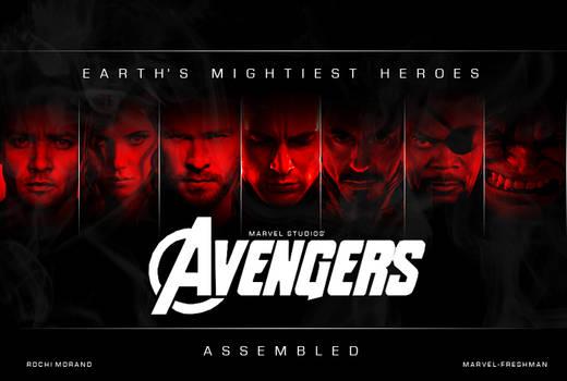 The Avengers Assembled Banner