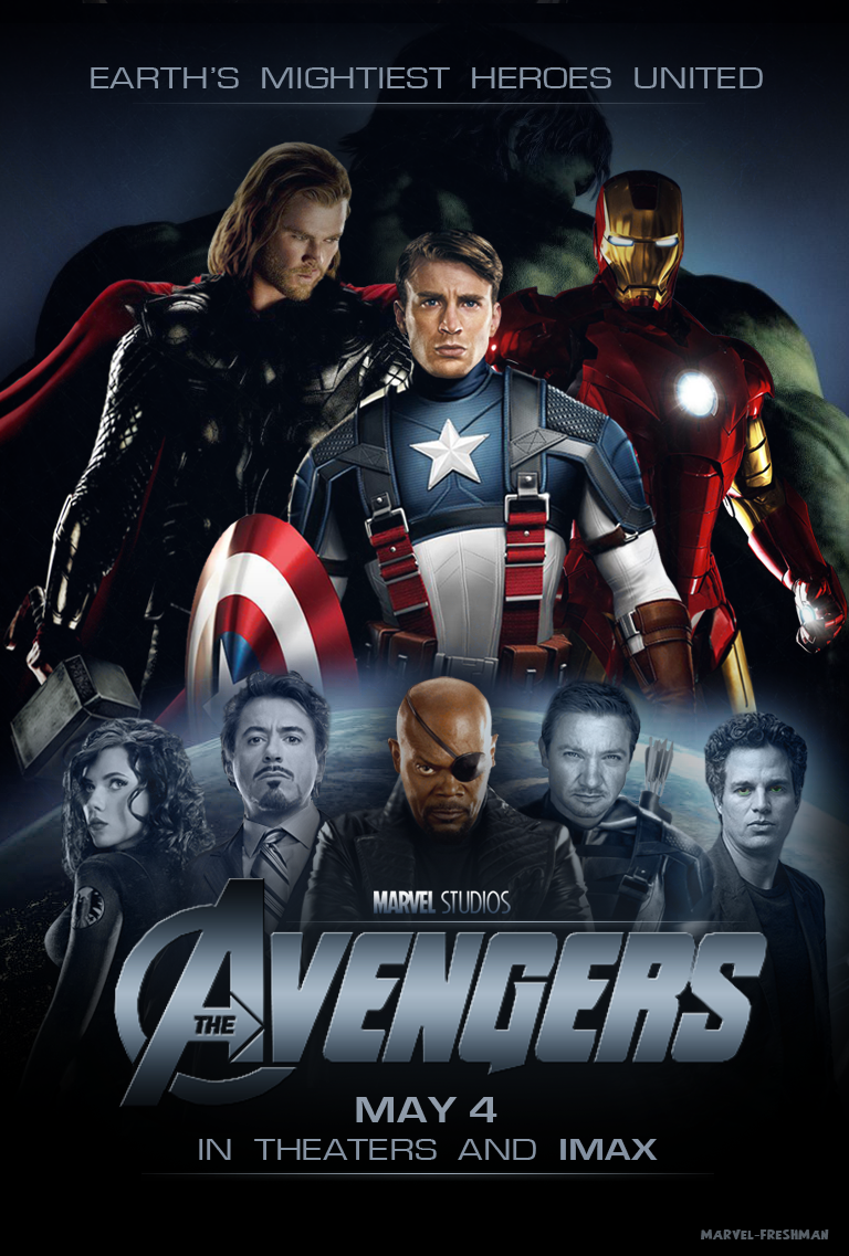 my new avengers postermarvel-freshman on deviantart