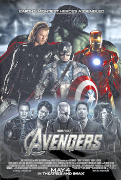 New Avengers Poster - 1