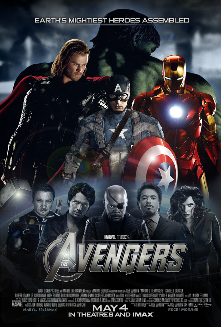 New Avengers Poster - 3 by