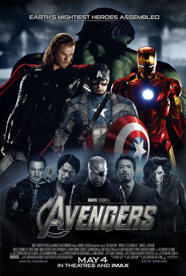 New Avengers Poster - 4 by Marvel-Freshman
