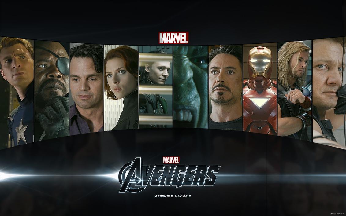 marvel's the avengers desktop wallpapermarvel-freshman on deviantart