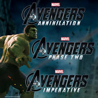 Marvel's The Avengers Sequel Title Treatment