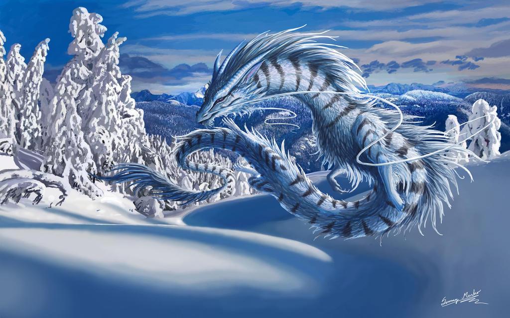 dragon Wallpaper by deaload